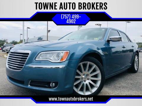 2011 Chrysler 300 for sale at TOWNE AUTO BROKERS in Virginia Beach VA