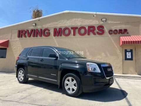 2016 GMC Terrain for sale at Irving Motors Corp in San Antonio TX