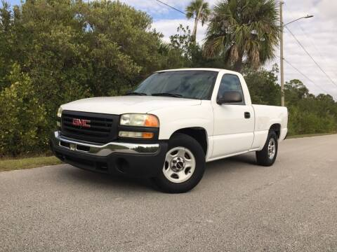 2003 GMC Sierra 1500 for sale at VICTORY LANE AUTO SALES in Port Richey FL