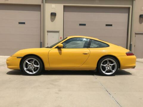 2002 Porsche 911 for sale at Enthusiast Motorcars of Texas in Rowlett TX