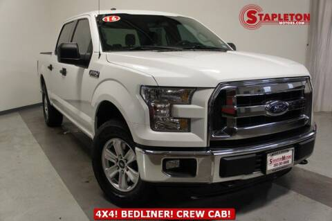 2016 Ford F-150 for sale at STAPLETON MOTORS in Commerce City CO