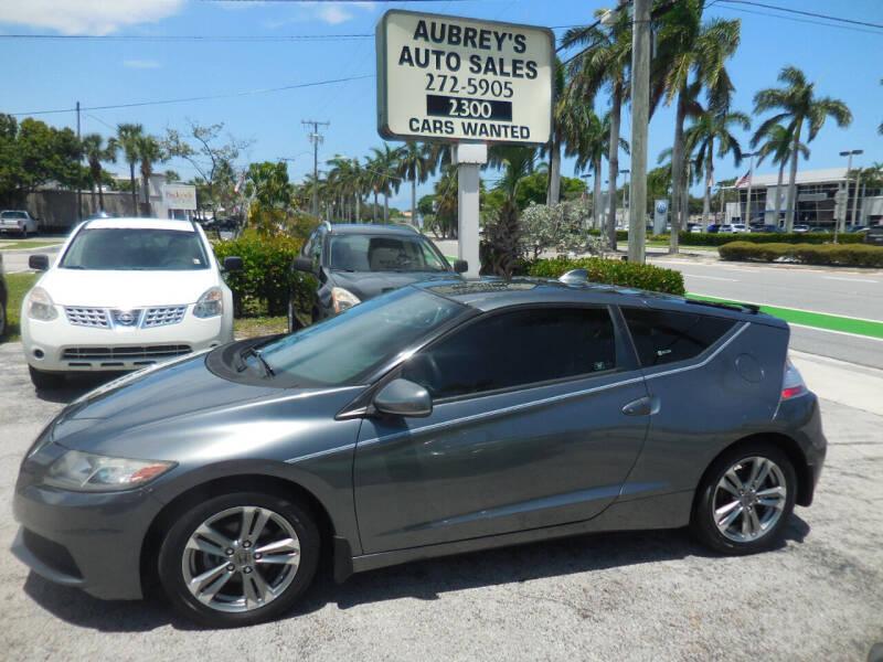 2013 Honda CR-Z for sale at Aubrey's Auto Sales in Delray Beach FL