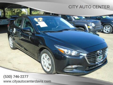 2017 Mazda MAZDA3 for sale at City Auto Center in Davis CA