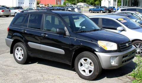 2003 Toyota RAV4 for sale at Angelo's Auto Sales in Lowellville OH