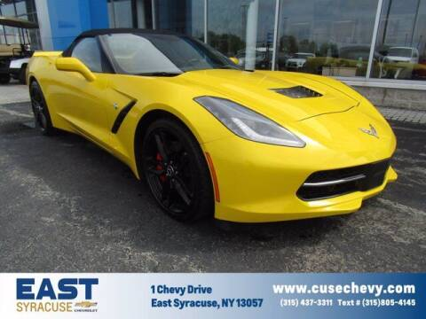 2014 Chevrolet Corvette for sale at East Syracuse Performance Sales & Service in Syracuse NY