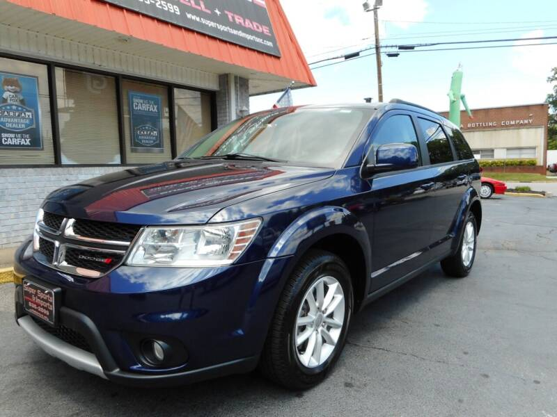 2017 Dodge Journey for sale at Super Sports & Imports in Jonesville NC