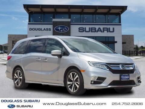 2018 Honda Odyssey for sale at Douglass Automotive Group - Douglas Subaru in Waco TX