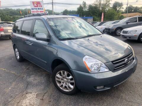 2007 Kia Sedona for sale at KB Auto Mall LLC in Akron OH