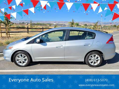 2011 Honda Insight for sale at Everyone Auto Sales in Santa Clara CA