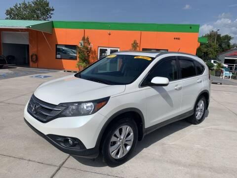 2013 Honda CR-V for sale at Galaxy Auto Service, Inc. in Orlando FL