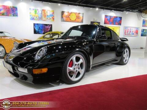 1997 Porsche 911 for sale at The New Auto Toy Store in Fort Lauderdale FL