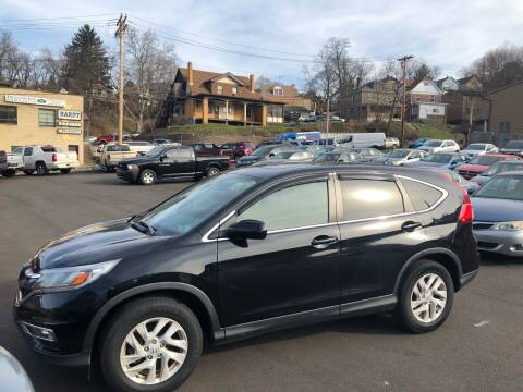 2016 Honda CR-V for sale at Fellini Auto Sales & Service LLC in Pittsburgh PA