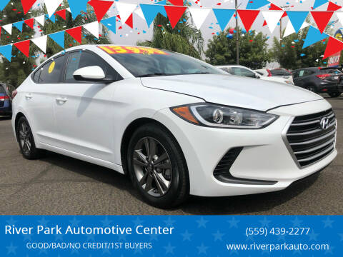 2017 Hyundai Elantra for sale at River Park Automotive Center in Fresno CA