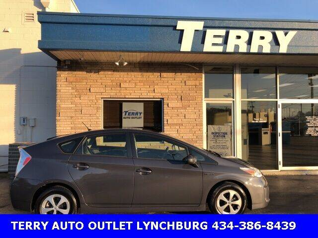 2013 Toyota Prius for sale at Terry Auto Outlet in Lynchburg VA