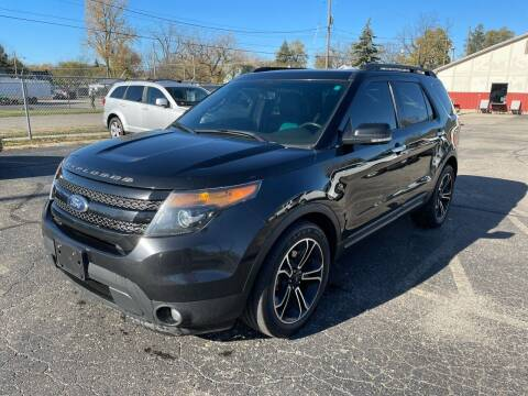 2014 Ford Explorer for sale at Dean's Auto Sales in Flint MI