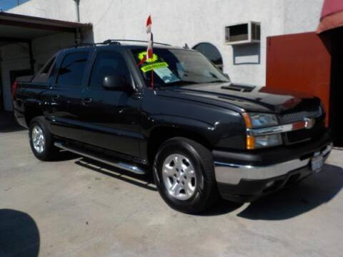 2006 Chevrolet Avalanche for sale at Bell's Auto Sales in Corona CA