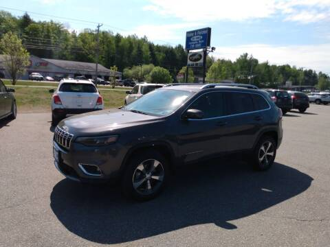 2019 Jeep Cherokee for sale at Ripley & Fletcher Pre-Owned Sales & Service in Farmington ME