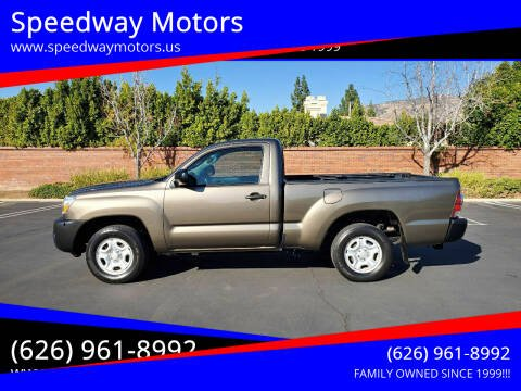 2011 Toyota Tacoma for sale at Speedway Motors in Glendora CA