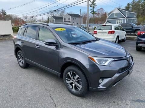 2018 Toyota RAV4 for sale at Platinum Auto in Abington MA