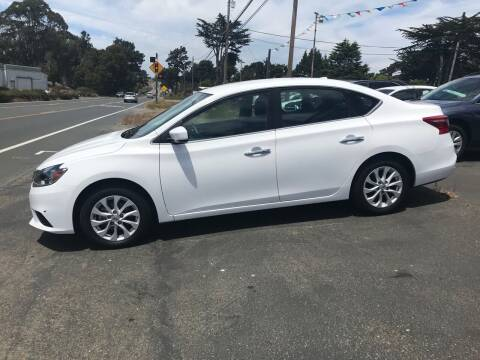 2019 Nissan Sentra for sale at HARE CREEK AUTOMOTIVE in Fort Bragg CA