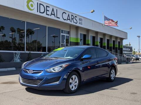 2016 Hyundai Elantra for sale at Ideal Cars Broadway in Mesa AZ