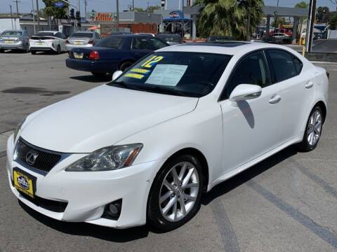 2012 Lexus IS 250 for sale at Best Car Sales in South Gate CA