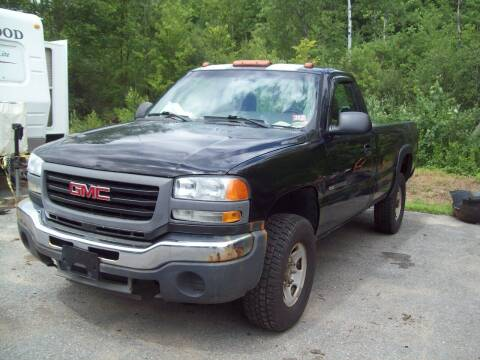 2005 GMC Sierra 2500HD for sale at Frank Coffey in Milford NH