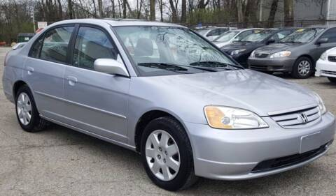 2002 Honda Civic for sale at Nile Auto in Columbus OH