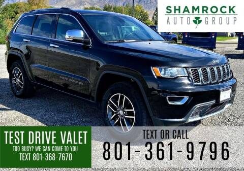 2018 Jeep Grand Cherokee for sale at Shamrock Group LLC #1 in Pleasant Grove UT