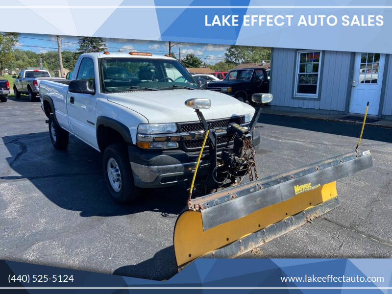 2001 Chevrolet Silverado 2500HD for sale at Lake Effect Auto Sales in Chardon OH