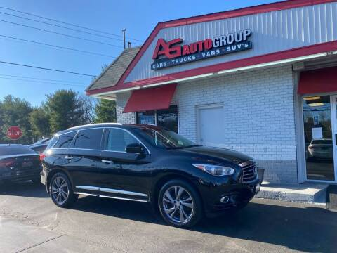 2013 Infiniti JX35 for sale at AG AUTOGROUP in Vineland NJ