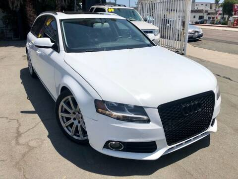 2011 Audi A4 for sale at TMT Motors in San Diego CA