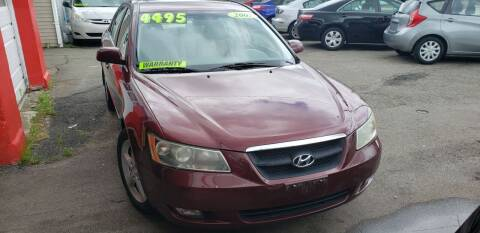 2007 Hyundai Sonata for sale at TC Auto Repair and Sales Inc in Abington MA
