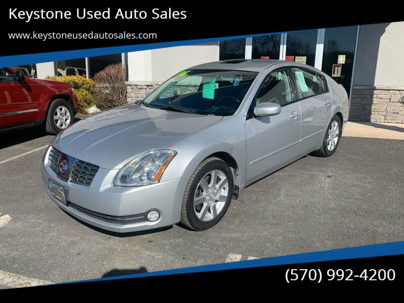 2006 Nissan Maxima for sale at Keystone Used Auto Sales in Brodheadsville PA