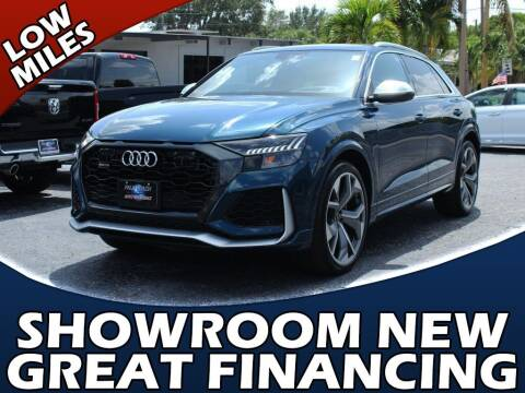 2021 Audi RS Q8 for sale at Palm Beach Auto Wholesale in Lake Park FL