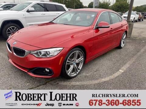 2016 BMW 4 Series for sale at Robert Loehr Chrysler Dodge Jeep Ram in Cartersville GA