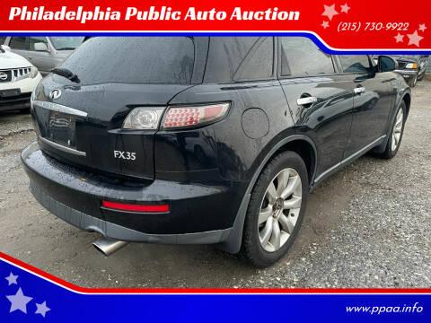 2005 Infiniti FX35 for sale at Philadelphia Public Auto Auction in Philadelphia PA