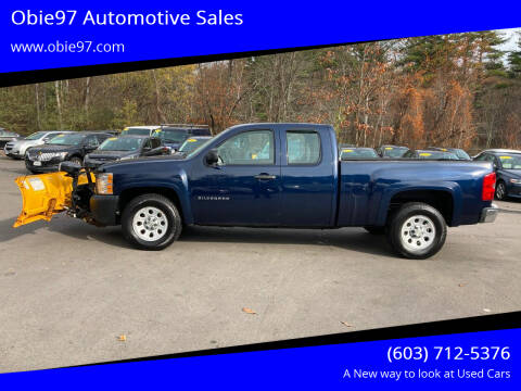 2011 Chevrolet Silverado 1500 for sale at Obie97 Automotive Sales in Londonderry NH