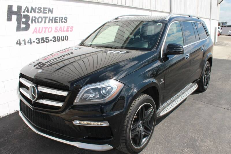 2015 Mercedes-Benz GL-Class for sale at HANSEN BROTHERS AUTO SALES in Milwaukee WI