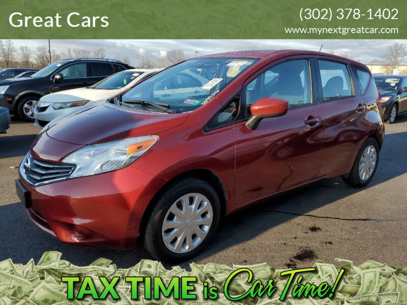 2016 Nissan Versa Note for sale at Great Cars in Middletown DE