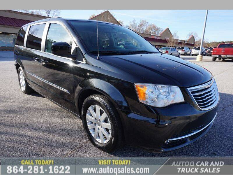 2014 Chrysler Town and Country for sale at Auto Q Car and Truck Sales in Mauldin SC