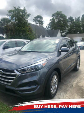2017 Hyundai Tucson for sale at Gralin Hampton Auto Sales in Summerville SC
