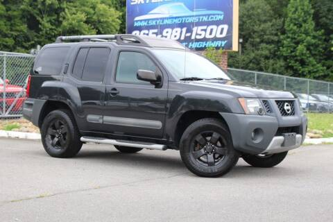 2012 Nissan Xterra for sale at Skyline Motors in Louisville TN