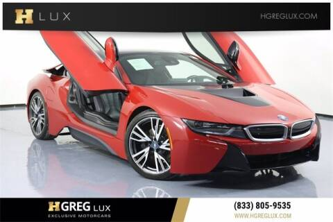 2017 BMW i8 for sale at HGREG LUX EXCLUSIVE MOTORCARS in Pompano Beach FL