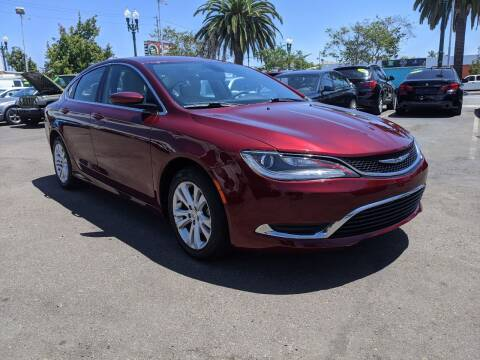 2015 Chrysler 200 for sale at Convoy Motors LLC in National City CA