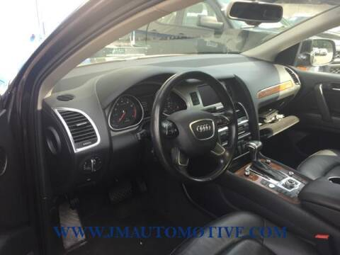 2015 Audi Q7 for sale at J & M Automotive in Naugatuck CT