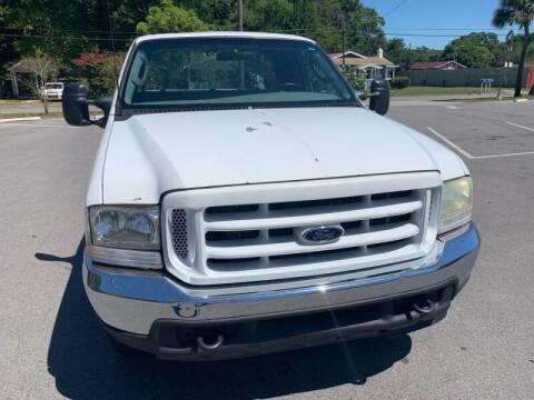 2000 Ford F-250 Super Duty for sale at LUXURY AUTO MALL in Tampa FL