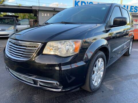 2014 Chrysler Town and Country for sale at KD's Auto Sales in Pompano Beach FL