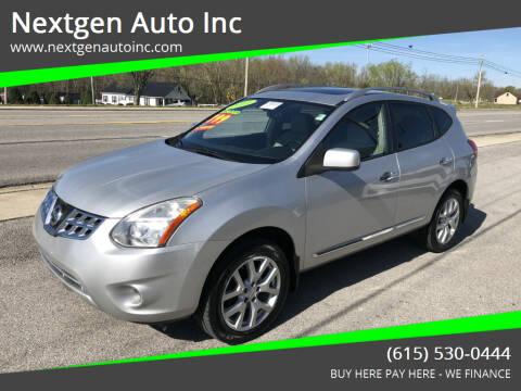 2011 Nissan Rogue for sale at Nextgen Auto Inc in Smithville TN