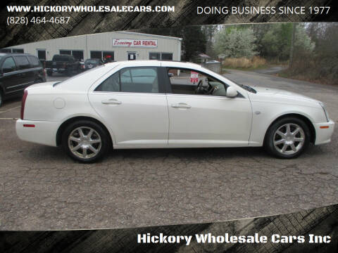 2006 Cadillac STS for sale at Hickory Wholesale Cars Inc in Newton NC
